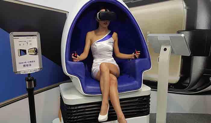 VR体验馆里的项目游戏体验活动是怎样的九七干影院?